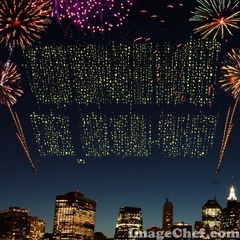 Fireworks Text